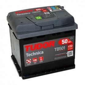 Batería Coche Tudor TB501 12V 50Ah