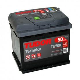 Batería Coche Tudor TB500 12V 50Ah