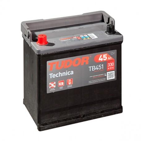 Batería Coche Tudor TB451 12V 45Ah