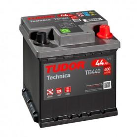 Batería Coche Tudor TB440 12V 44Ah