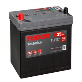 Batería Coche Tudor TB357 12V 35Ah