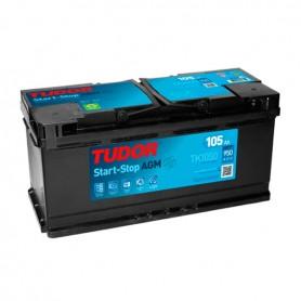 Batería Coche Tudor Agm TK1050 12V 105Ah