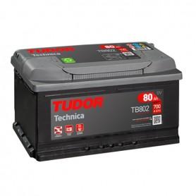 Batería Coche Tudor TB802 12V 80Ah