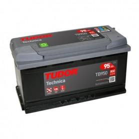 Batería Coche Tudor TB950 12V 95Ah