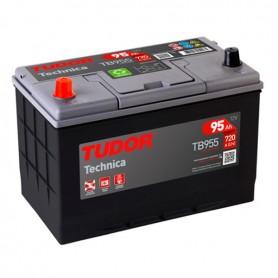 Batería Coche Tudor TB955 12V 95Ah