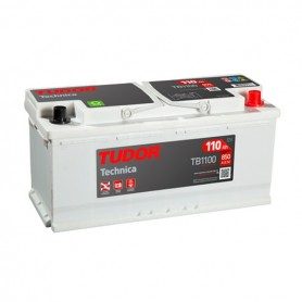 Batería Coche Tudor TB1100 12V 110Ah