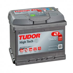 Batería Coche Tudor TA472 12V 47Ah