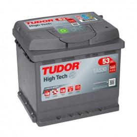 Batería Coche Tudor TA530 12V 53Ah