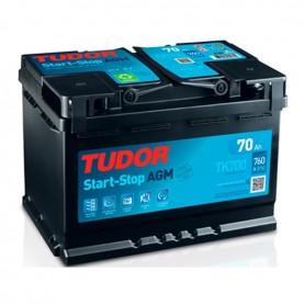 Batería Coche Tudor Agm TK700 12V 70Ah