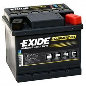 Batería Exide Gel ES450 12V 40Ah