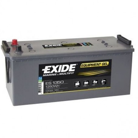 Batería Exide Gel ES1350 12V 120Ah