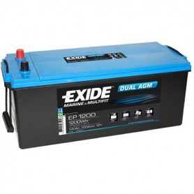 Batería Agm Exide EP1200 12V 140Ah
