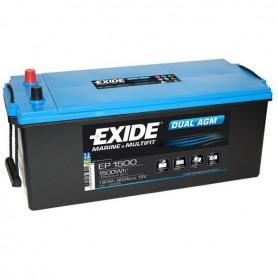 Bateria Agm Exide EP1500 12V 180Ah