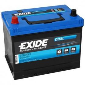 Batería Exide Dual ER350 12V 80Ah
