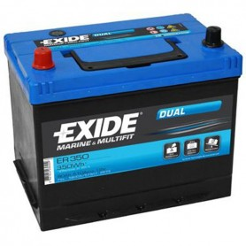 Batería Arranque Exide ER350 12V 80Ah