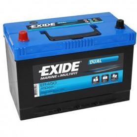 Batería Exide Dual ER450 12V 95Ah