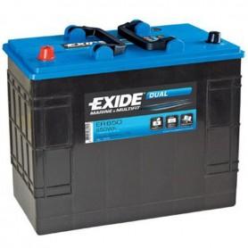 Batería Exide Dual ER650 12V 142Ah