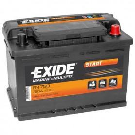 Batería Arranque Exide EN750 12V 74Ah