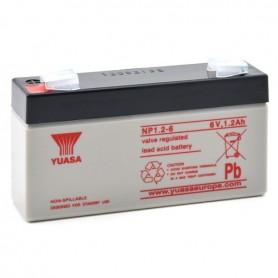 Batería Agm YUASA NP1,2-6 6V 1,2Ah