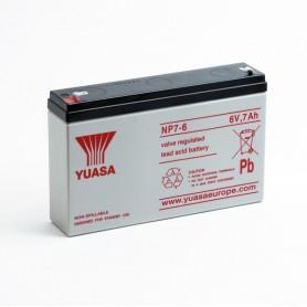 Batería Agm YUASA NP7-6 6V 7Ah