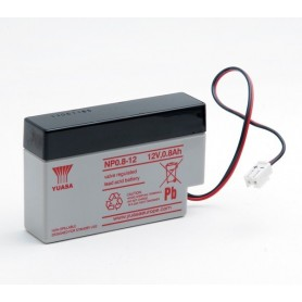 Bateria Agm YUASA NP0.812 12V 0,8Ah