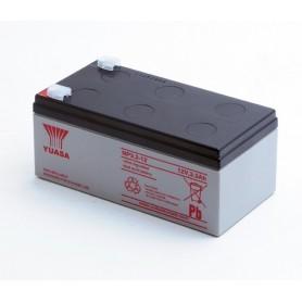 Bateria Agm YUASA NP3,2-12 12V 3,2Ah