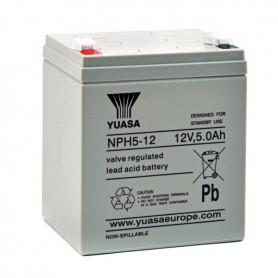 Bateria Agm YUASA NPH5-12 12V 5Ah