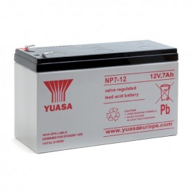 Bateria Agm YUASA NP7-12 12V 7Ah