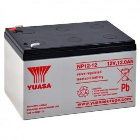 Bateria Agm YUASA NP12-12 12V 12Ah