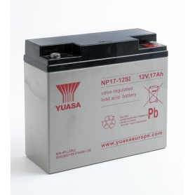 Bateria Agm YUASA NP17-12 12V 17Ah