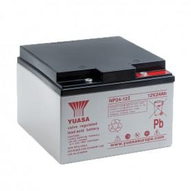 Bateria Agm YUASA NP24-12 12V 24Ah