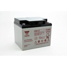 Bateria Agm YUASA NP38-12 12V 38Ah