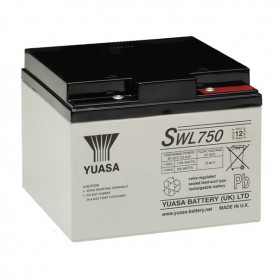 Bateria Agm YUASA SWL750 12V 24Ah