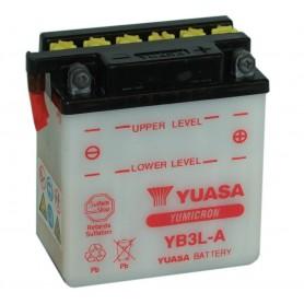 Batería Moto Yuasa YB3LA 12V 3Ah