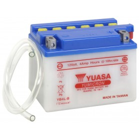 Batería Moto YUASA YB4LB 12V 4Ah
