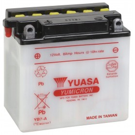 Batería Moto YUASA YB7A 12V 8Ah