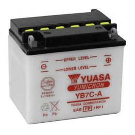 Batería moto YUASA YB7CA 12V 8Ah