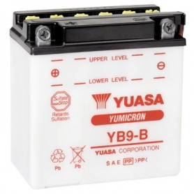 Batería Moto YUASA YB9B 12V 9Ah