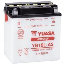Batería Moto Yuasa YB10LA2 12V 11Ah