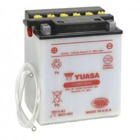 Batería Moto Yuasa YB14A2 12V 14Ah