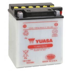 Batería Moto Yuasa YB14B2 12V 14Ah