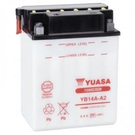 Batería Moto YUASA YB14AA2 12V 14Ah