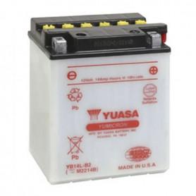 Batería Moto Yuasa YB14LB2 12V 14Ah