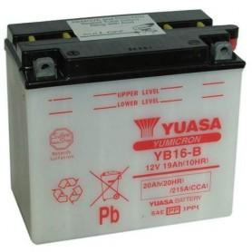 Batería Moto Yuasa YB16B 12V 19Ah
