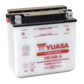 Batería Moto Yuasa YB16BA 12V 16Ah