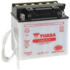 Batería Moto YUASA YB16CLB 12V 19Ah