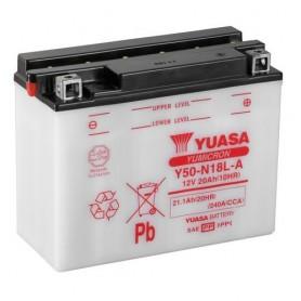 Batería Moto Yuasa Y50N18LA 12V 20Ah