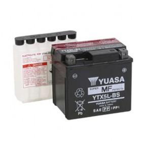 Batería Moto Yuasa Agm YTX5LBS 12V 4Ah