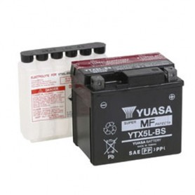 Batería Moto YUASA YTX5LBS 12V 4Ah