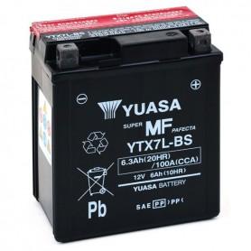 Batería Moto Yuasa Agm YTX7LBS 12V 6Ah